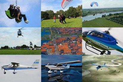 Je woonplaats altijd al eens van boven willen zien? Eén van de belevenissen in dit pakket is een helikoptervlucht boven je eigen huis! Wat denk je van een tamdemvlucht aan een paraglider? Voor je het weet zweef je geluidloos door de lucht. Ook mag je zelf vliegen in een vliegtuig! Dus: ga de uitdaging aan en ervaar de wereld vanuit de lucht! Leuk als cadeau, maar natuurlijk ook leuk voor jezelf.