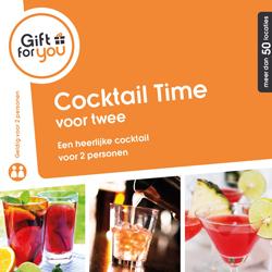Een heerlijke cocktail per persoon. Voor twee personen.