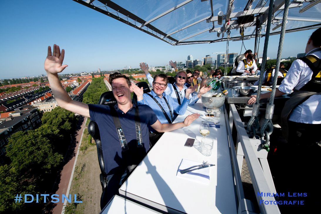 Exclusief: Lunch in the Sky! | Cadeaubon
