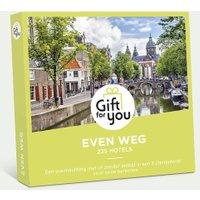 GiftForYou even weg voor twee €59.90