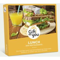 GiftForYou lunch voor twee €19.90